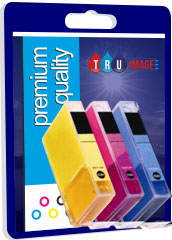 Compatible Cyan, Magenta, Yellow Ink Cartridges for CLI-8C/M/Y