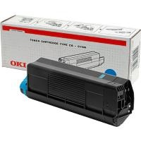 Oki Black Laser Toner Cartridge - 1221601, 30K Yield