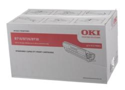 Oki Black Laser Toner Cartridge, 15K Page Yield