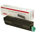 Oki High Capacity Black Laser Toner Cartridge - 9004169, 12K Yield