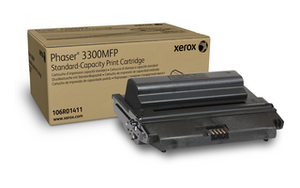 Xerox 106R01411 Standard Capacity Black Laser Toner Cartridge, 4K Page Yield