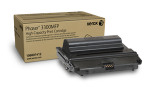Xerox 106R01412 High Capacity Black Laser Toner Cartridge, 8K Page Yield
