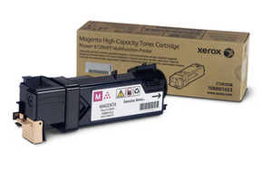 Xerox 106R01453 Magenta Toner Cartridge, 2.5K Page Yield