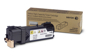 Xerox 106R01454 Yellow Toner Cartridge, 2.5K Page Yield