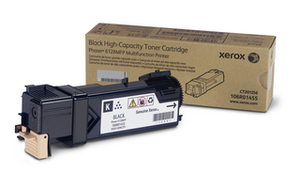 Xerox 106R01455 Black Toner Cartridge, 3.1K Page Yield
