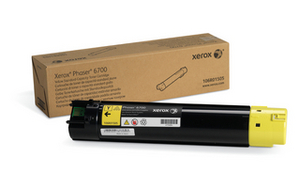 Xerox 106R01505 Yellow Toner Cartridge, 5K Page Yield