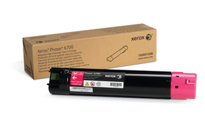 Xerox 106R01507 High Capacity Cyan Toner Cartridge, 12K Page Yield