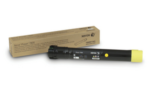Xerox 106R01565 Yellow Toner Cartridge, 6K Page Yield