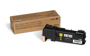 Xerox Standard Capacity Yellow Laser Toner Cartridge, 1K Page Yield