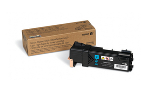 Xerox High Capacity Cyan Laser Toner Cartridge, 2.5K Page Yield