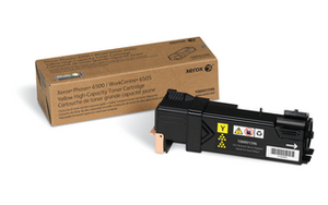Xerox High Capacity Yellow Laser Toner Cartridge, 2.5K Page Yield