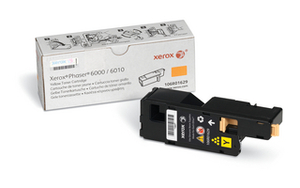 Xerox Yellow Laser Toner Cartridge, 1K Page Yield