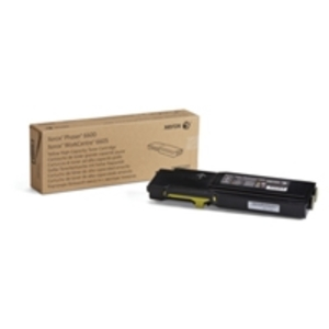 Xerox High Capacity Yellow Toner Cartridge, 6K Page Yield