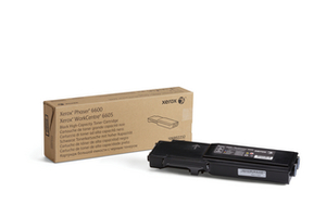 Xerox High Capacity Black Toner Cartridge, 8K Page Yield