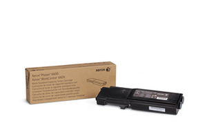 Xerox Standard Capacity Black Toner Cartridge, 3K Page Yield
