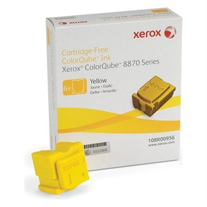 Xerox ColorQube 6 Solid Yellow Ink Wax Sticks, 17.3K Yield