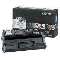Lexmark 12A7400 Return Program Toner Cartridge, 3K Yield