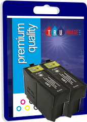 Compatible High Capacity Twin Black Epson T1001 Printer Cartridges - Replaces Epson T1001XL, 2 x 32ml