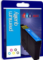 Compatible High Capacity Cyan Epson T1302 Printer Cartridge - Replaces Epson T1302X