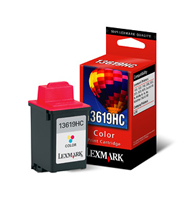 13619HCE Lexmark Tri Color Ink Cartridge ( Blister Pack)