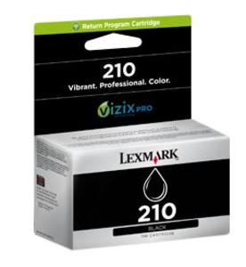 Lexmark 210 Return Program Black Ink Cartridge - 014L0173E