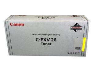 Canon C-EXV26 Yellow Copier Toner Cartridge ( CEXV26) - 1658B006AA