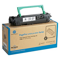 Konica Minolta Black PagePro 8 Toner Cartridge, 6K Page Yield