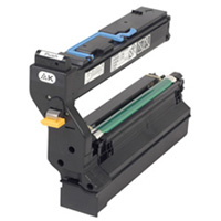 Konica Minolta QMS Standard Capacity Yellow Toner Cartridge, 6K Page Yield
