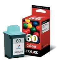 Lexmark No 60 Colour Ink Cartridge