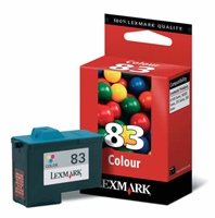 Lexmark 83 Colour Ink Cartridge- 018L0042E