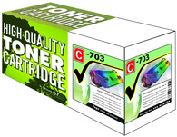 Laser Toner Cartridge Compatible with Canon 703