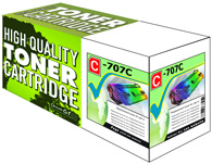 Black Laser Toner Cartridge Compatible with Canon 707BK
