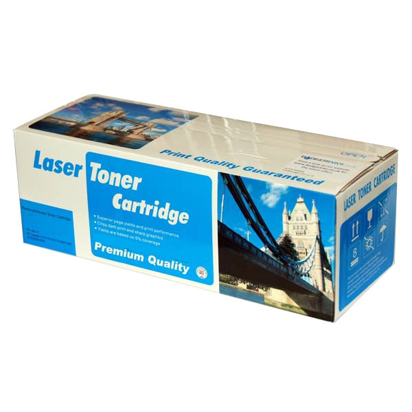Black Toner Cartridge Compatible with Samsung CLT-K4072S, 1K Page Yield