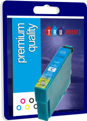 Compatible Cyan Epson 27XL Printer Cartridge - Replaces Epson T2712