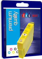 Compatible Yellow Epson 27XL Printer Cartridge - Replaces Epson T2714