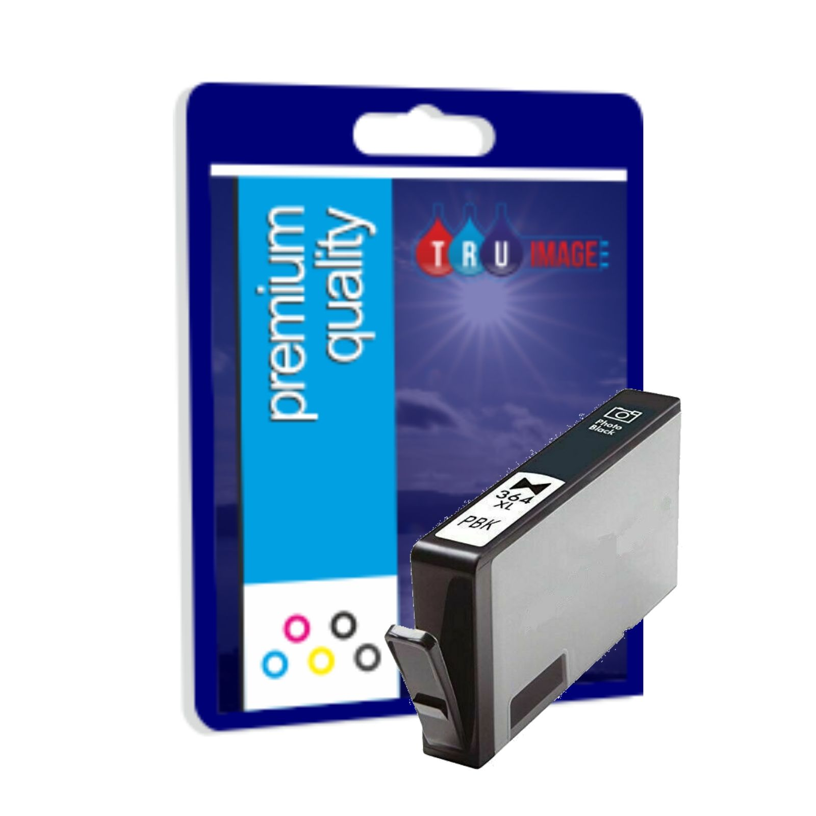Premium Quality Ink Cartridge for HP 364XL Photo Black