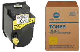 Konica Minolta Yellow Toner Cartridge TN310Y, 4053503