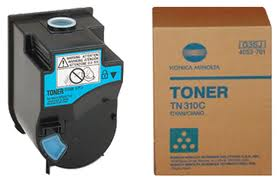 Konica Minolta Cyan Toner Cartridge TN310C, 4053703