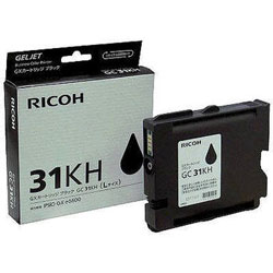 Ricoh 405701 Gel Print GC31KH High Capacity Black Ink Cartridge (GC-31KH), 4230 Page Yield