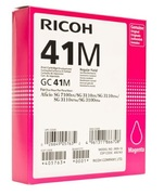 Ricoh High Capacity GC 41M Gel Print Magenta Ink Cartridge, 2.2K Page Yield