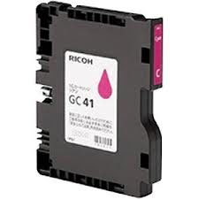 Ricoh 405767 Gel Print GC41M Magenta Ink Cartridge (GC-41M), 400 Page Yield