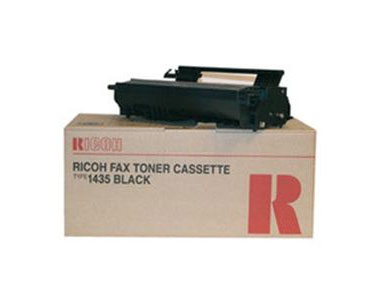 Ricoh Type 1435 Black Fax Toner Cartridge, 4.5K Page Yield