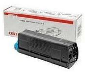 Oki Cyan Toner Cartridge, 2.5K Yield