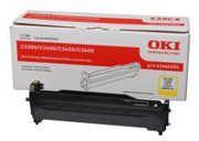 Oki Yellow Imaging Drum Unit, 15K Yield