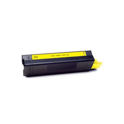 Eco Compatible Toner Cartridges for Oki (Yellow) 43487709