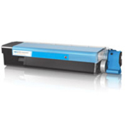 Eco Compatible Toner Cartridges for Oki (Cyan) 43865723