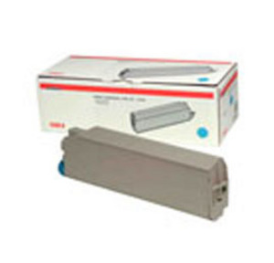 Oki 44059167 Cyan Toner Cartridge, 7.3K Page Yield
