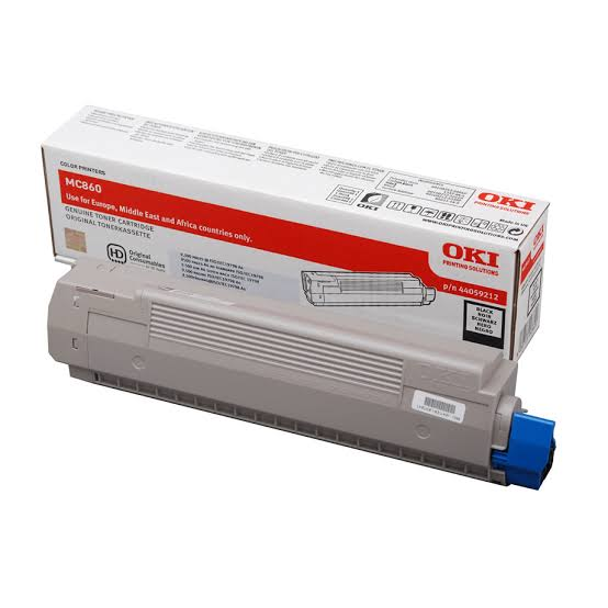 Oki Black Toner Cartridge, 9.5K Yield