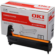 Oki Black Drum Unit, 20K Yield