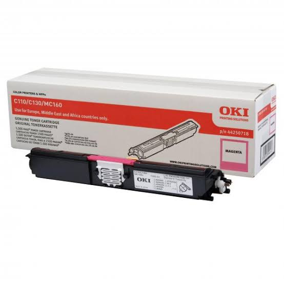 Oki Magenta Laser Toner Cartridge, 1.5K Yield